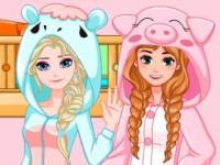 Elsa Anna Yatak Odası oyunu