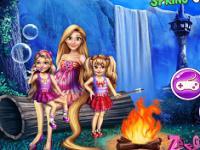 Rapunzel Bahar Kampı oyunu
