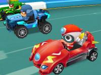 Yarışçı Robot Arabalar oyunu
