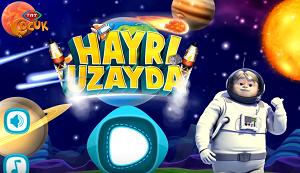 Hayri Uzayda oyunu