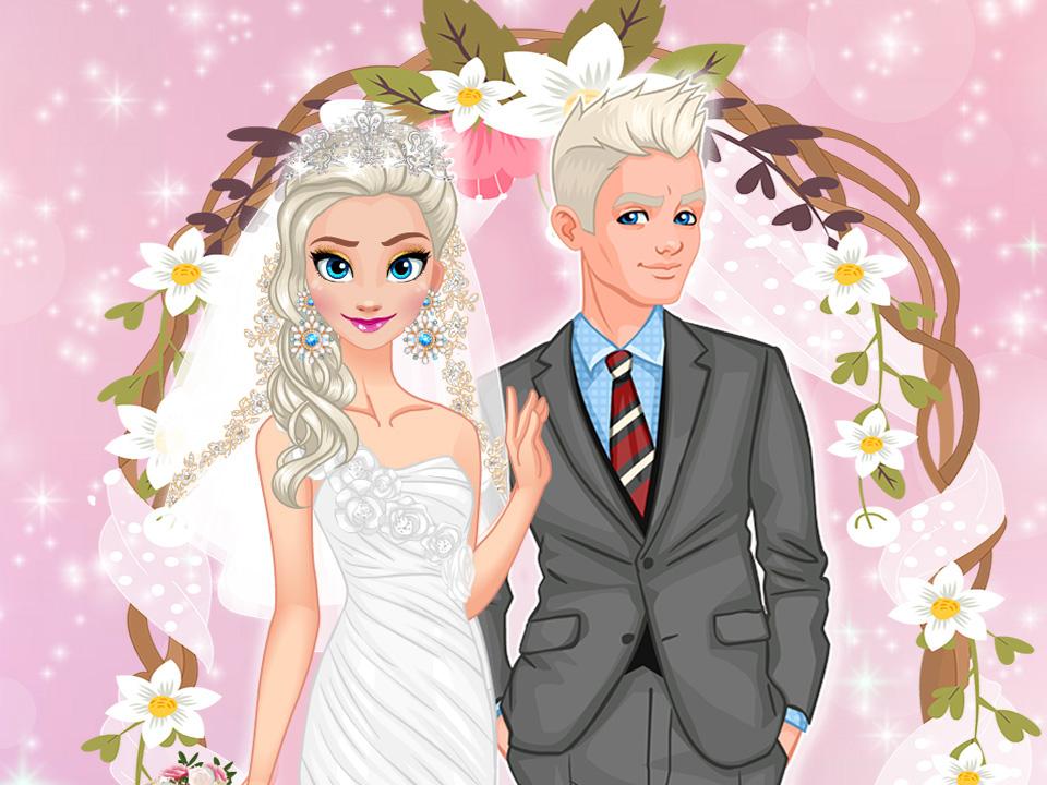 Karlar Kraliçesi Düğün Günü oyunu