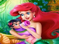 Ariel Bebek Bakıcısı oyunu