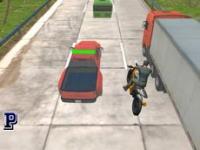 Motosiklet Yarışçısı oyunu