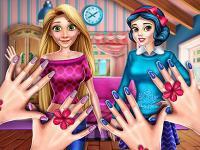 Prensesler Tırnak Bakımı oyunu