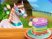 Pony Kek Pişirme