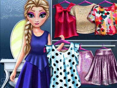 Elsanın Trendy Kıyafetleri oyunu