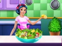 Prensesler Fitnes Diyet oyunu