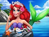 Ariel Yaz Makyajı oyunu