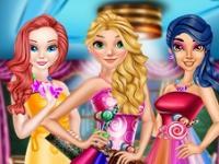 Prensesler Bonbon Elbiseler oyunu