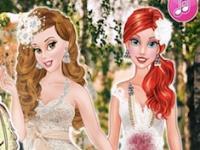 Prensesler Boho Düğünü oyunu