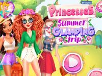 Prensesler Yaz Kampı oyunu