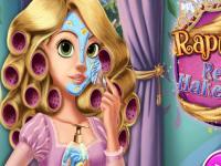 Rapunzel Gerçek Makyaj oyunu