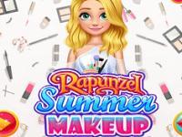 Rapunzel Sonbahar Makyajı oyunu