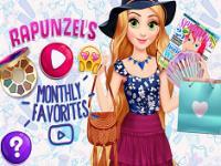 Rapunzel Favori Kıyafetler oyunu