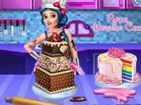 Pamuk Prenses Düğün Pastası oyunu