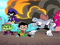 Teen Titans Adalet oyunu