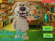 Talking Ben Dişçide oyunu