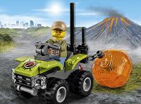 Lego Şehir Volkan Kaşifleri