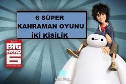 6 Süper Kahraman Oyunu İki Kişilik