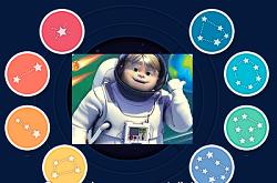 Hayri Uzayda Takımyıldızları oyunu