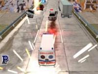 Ambulans Kurtarma Yarışı oyunu