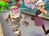 Kızgın Büyükanne Kaçış Japonya
