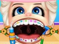 Bebek Elsa Dişçide oyunu