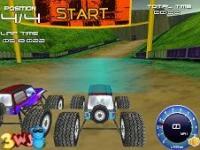 Yarışçı Arazi Örümcek 3D oyunu