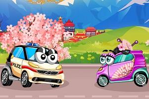 Oyuncak Arabalar Park Japonya oyunu