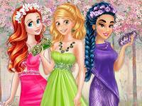 Prensesler Bahar Renkleri oyunu