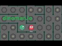 Dinoman.io oyunu