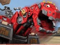 Dinozor Makineler Kaya Parçalama oyunu