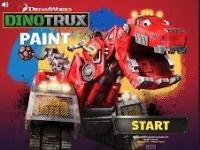 Dinozor Makineler Eşini Bul oyunu