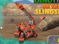 Dinozor Makineler Skya Yap oyunu