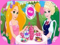Disney Prensesleri Çay Partisi oyunu
