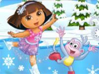 Dora Yeni Yıl Dansı oyunu