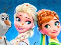 Elsa Gizli Kalpler oyunu