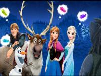 Elsa Kristal Toplama Yarışı oyunu