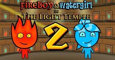Ateş ve Su Işık Tapınağı 2 oyunu