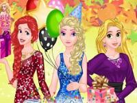 Prensesler Sürpriz Parti