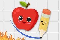 Akıllı Elma Çiz Bul oyunu