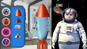 Hayri Uzayda Roket oyunu