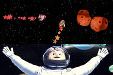 Hayri Uzayda Asteroid oyunu