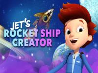 Jet ile Keşfet Uzay Gemisi oyunu