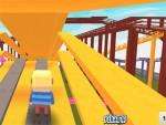 Kogama Lunapark Hızlı Tren oyunu