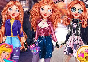 Prensesler Sonbahar Trendleri oyunu