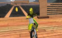 Bisikletli Altın Toplayıcısı