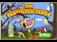 Kahraman Kedi Fred Kuş Besleme