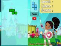 Nella Prenses Şövalye Tetris oyunu