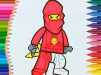 Lego Ninjago Boyama oyunu